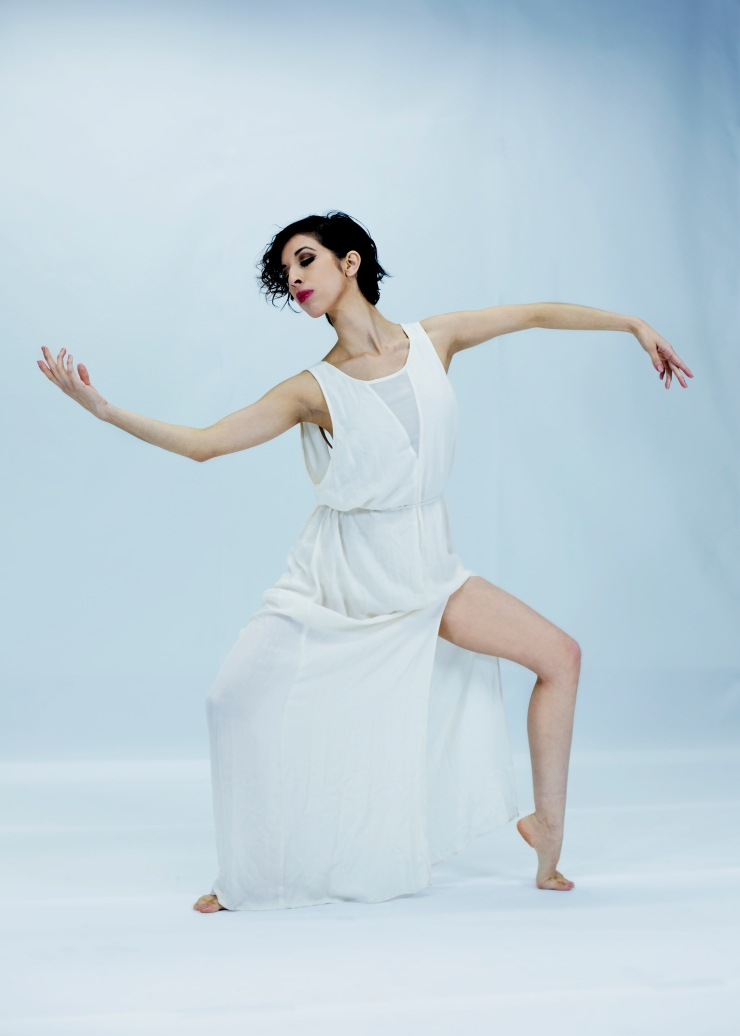 Jasmin White Dress